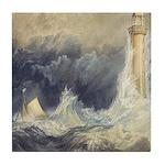 Bell Rock Lighthouse by Turner Tile Coaster