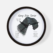 Kerry Blue Wall Clock