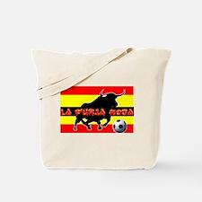 La Furia Roja Tote Bag