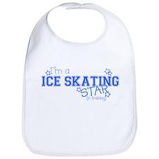 Ice Skating star Bib
