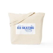 Ice Skating star Tote Bag