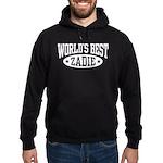 World's Best Zadie Hoodie (dark)