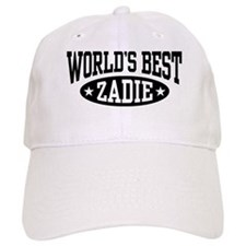 World's Best Zadie Baseball Cap