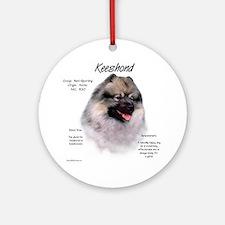 Keeshond Ornament (Round)
