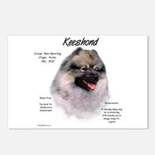 Keeshond Postcards (Package of 8)