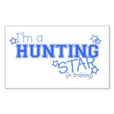 Hunting star Rectangle Decal