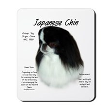 Japanese Chin Mousepad