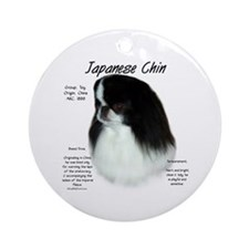 Japanese Chin Ornament (Round)