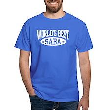 World's Best Saba T-Shirt
