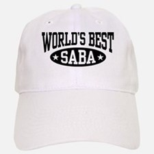 World's Best Saba Baseball Baseball Cap