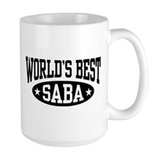 World's Best Saba Coffee Mug