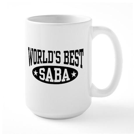 World's Best Saba Large Mug
