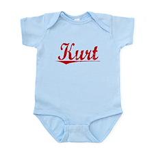 Kurt, Vintage Red Infant Bodysuit
