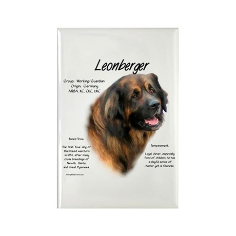 Leonberger Rectangle Magnet