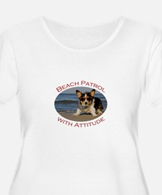 Beach Patrol with Attitude T-Shirt