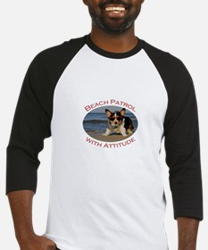 Beach Patrol with Attitude Baseball Jersey