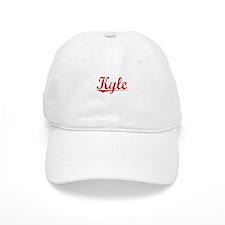 Kyle, Vintage Red Baseball Cap