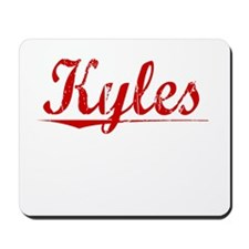 Kyles, Vintage Red Mousepad