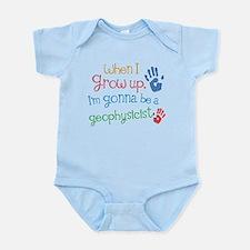 Kids Future Geophysicist Infant Bodysuit