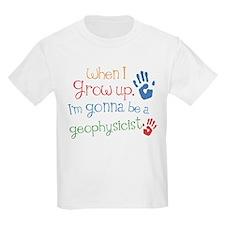 Kids Future Geophysicist T-Shirt