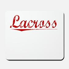 Lacross, Vintage Red Mousepad