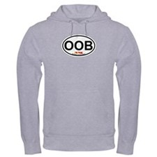 Old Orchard Beach ME - Oval Design. Hoodie