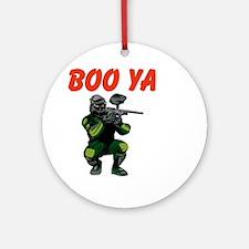 Boo Ya Ornament (Round)