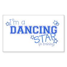 Dancing star Rectangle Decal