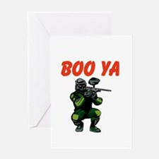 Boo Ya Greeting Card