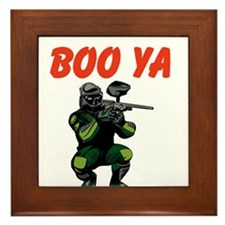 Boo Ya Framed Tile