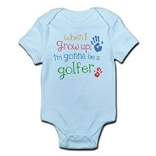 Kids Future Golfer Infant Bodysuit