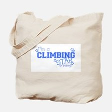 Climbing star Tote Bag