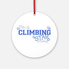 Climbing star Ornament (Round)