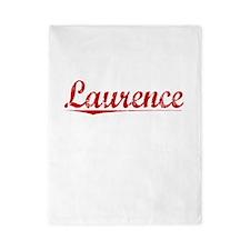 Laurence, Vintage Red Twin Duvet