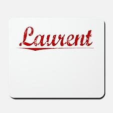 Laurent, Vintage Red Mousepad