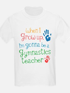 Future Gymnastics Teacher T-Shirt