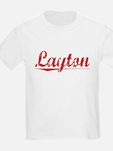 Layton, Vintage Red T-Shirt