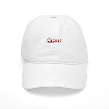 Lazaro, Vintage Red Baseball Cap