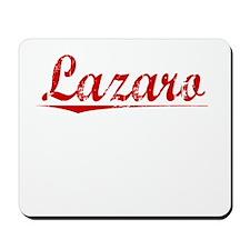 Lazaro, Vintage Red Mousepad