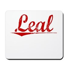 Leal, Vintage Red Mousepad
