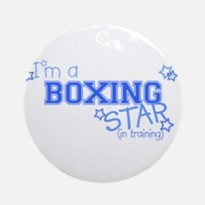 Boxing star Ornament (Round)