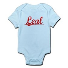 Leal, Vintage Red Infant Bodysuit