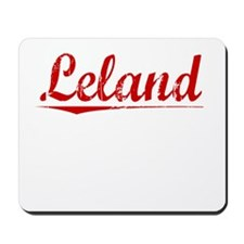 Leland, Vintage Red Mousepad