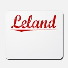 Leland, Vintage Red Mousepad