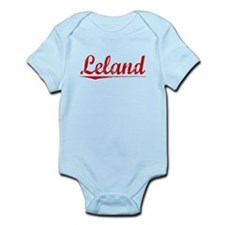 Leland, Vintage Red Infant Bodysuit