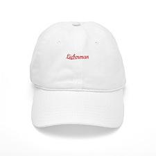 Lieberman, Vintage Red Baseball Cap