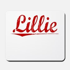 Lillie, Vintage Red Mousepad