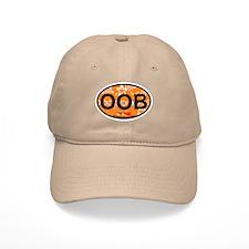 Old Orchard Beach ME - Oval Design. Baseball Cap