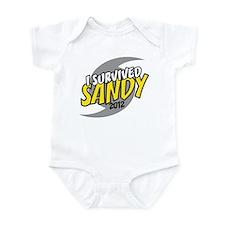 I Survived SANDY Infant Bodysuit