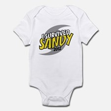 I Survived SANDY Infant Bodysuit